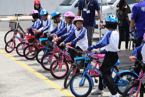 ยามาฮ่า ปลูกจิตสำนึกวินัยจราจรให้เด็กนักเรียน ผ่านกิจกรรม YAMAHA Road Safety For Children 2017