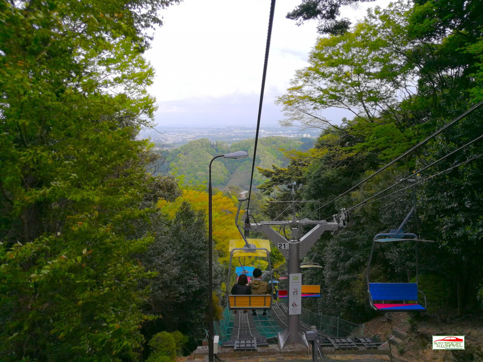 ที่ๆคนญี่ปุ่นชอบเที่ยว ไม่ไกลจากโตเกียว นั่งกระเช้าห้อยขา ทาคาโอะ